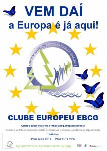 Cartaz clube europeu foto