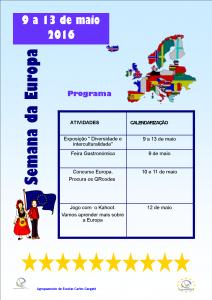 programa da semana da europa